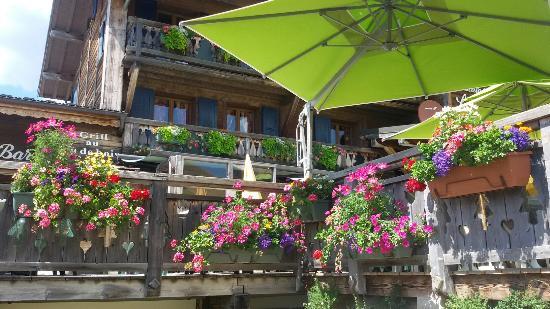 Chalet la Croix Blanche Hotel : Terrasse de la Croix Blanche