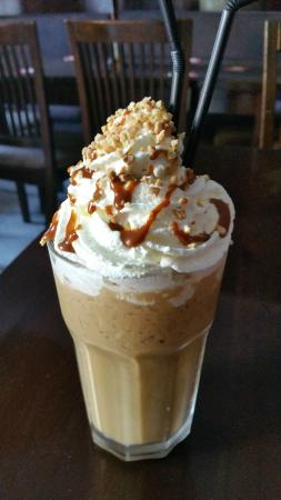 Cheers Sports & Food Bar : COOL DOWN WITH A CRUNCHY CARAMEL ICED COFFEE!