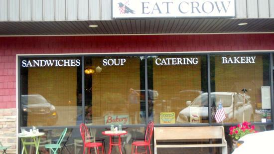 Eat Crow: Restaurant front