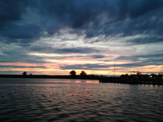 Sunset at Indian River Marina