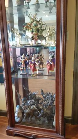 Taste of Thai: A fun display cabinet