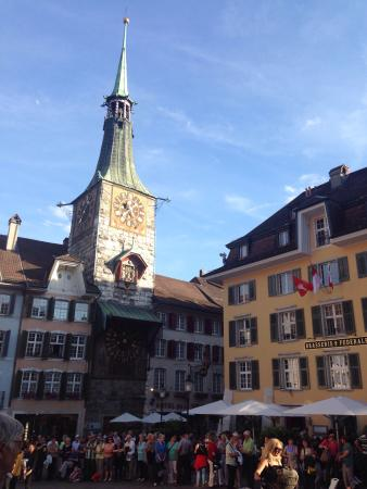 St. Ursen Cathedral: Pictures from Solothurn...one the most beautiful cities in Switzerland