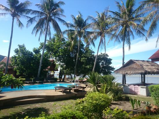 Morning Star Resort: Vue du restaurant