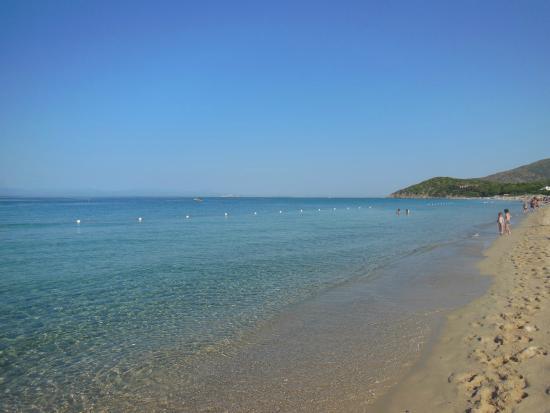 Maracalagonis, Italie : Meravigliosa spiaggia!