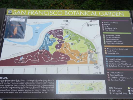 Entrada Al Jard N Bot Nico Picture Of San Francisco Botanical Garden San Francisco Tripadvisor