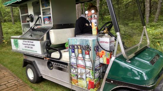 Unique Drink Cart What A Drink Machine Picture Of Forest Dunes