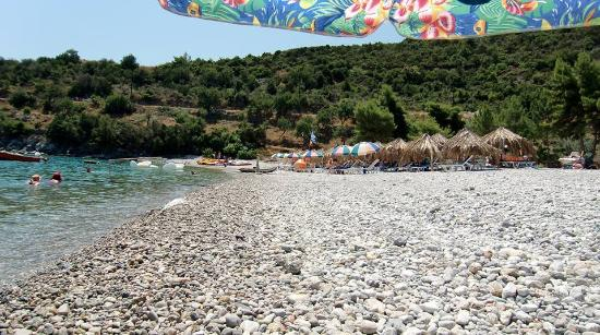 Tyros, Greece: Tigani beach