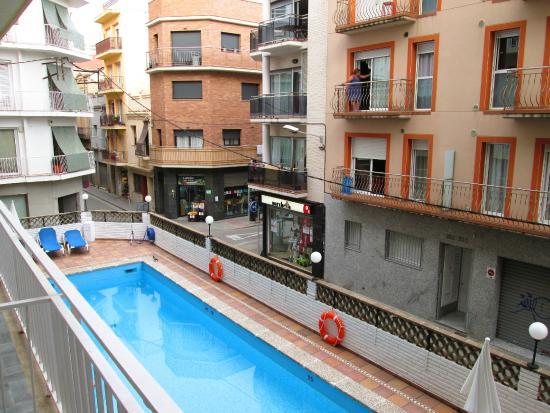 Calella Park: Вид с балкона