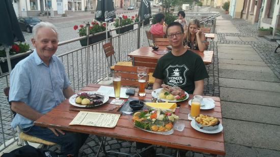 Burgstadt, Alemania: Had a very nice meal, and great hospitality from the owner, thanks for a great evening