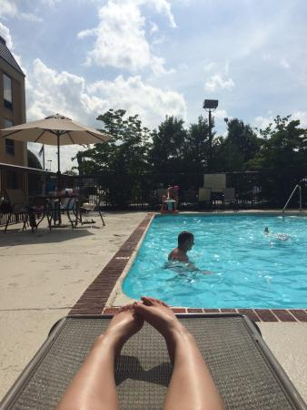 Holiday Inn Johnson City: Pool at holiday inn! Very clean and tons of fun.