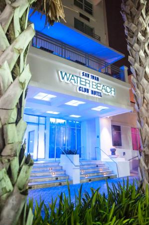 San Juan Water Beach Club Hotel Entrance And Facade