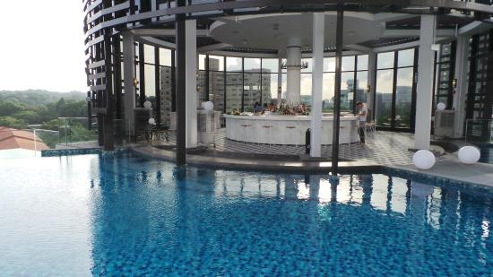 pool bar picture of park hotel alexandra singapore tripadvisor. Black Bedroom Furniture Sets. Home Design Ideas