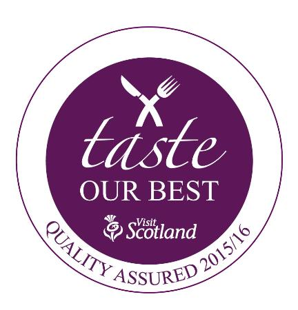Muckrach Country House Hotel: Visit Scotland's Taste our Best