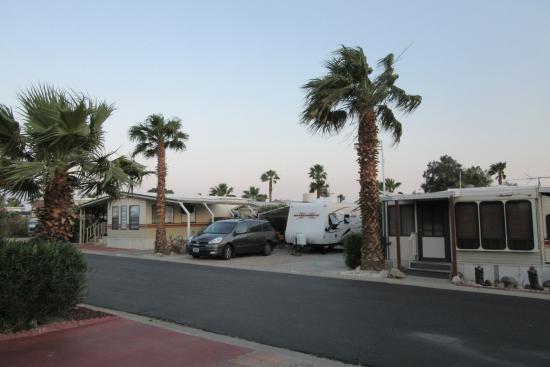 Sands Rv & Golf Resort: Our RV site