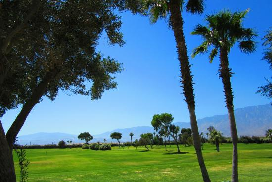 Sands Rv & Golf Resort: The executive golf course looking from the pool