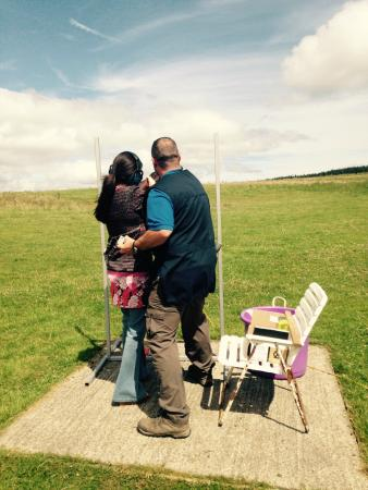 Top Gun Paintball and Clay Shooting: Helping hand