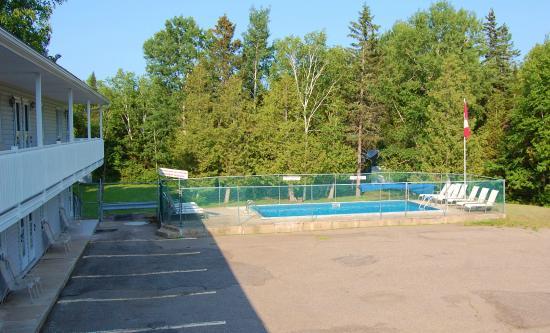 John's Motel : pool area