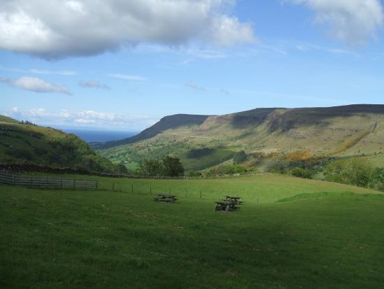 View during hike in Glenariffe Forest Park