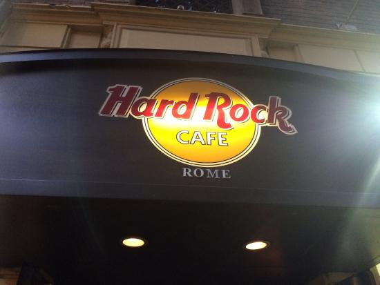 hard rock cafe rome picture of hard rock cafe rome rome. Black Bedroom Furniture Sets. Home Design Ideas