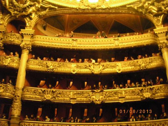 Paris, Prancis: Opera inside
