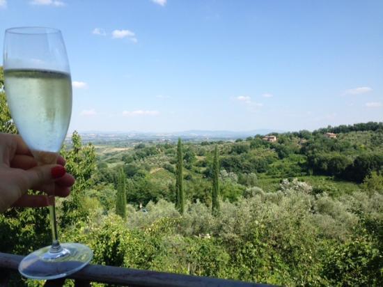 Villa Cicolina: Our room