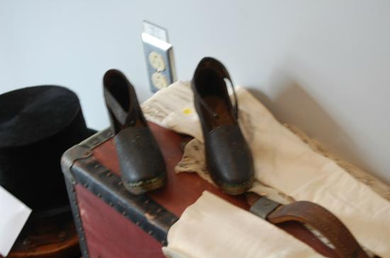 North Sydney Historical Society: Clogs worn by miners families