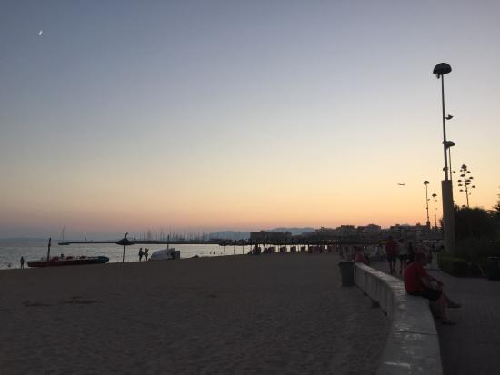 Hotel Playa : Tranquilidad