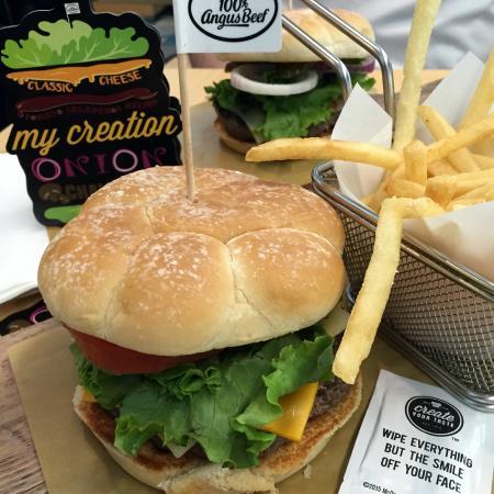 create your taste mcdonald s burger set picture of mcdonald s