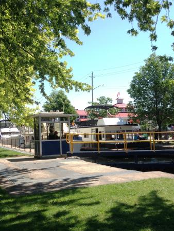 The Lock and Bridge, Oldest on the Trent-Severn Waterway