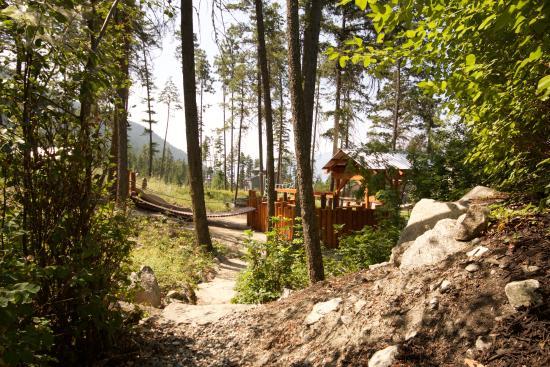 Vernon, Canadá: Forest playground