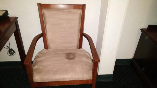 Wingate by Wyndham Duluth/Atlanta : Unpleasant stained chair