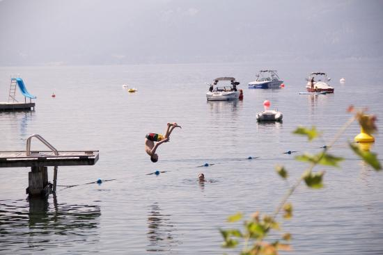 Vernon, Kanada: Fun in the lake