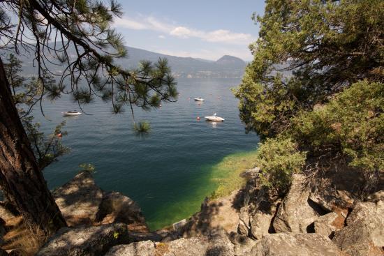 The Outback Resort: The beautiful Okanagan Lake