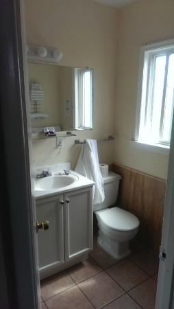 Viking Motel: Bathroom