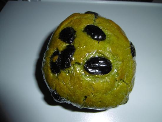 Bagel & Bagel : 抹茶と丹波黒豆マフィン