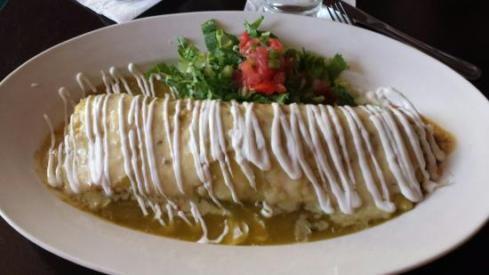 Los Huesos: Epic burrito!