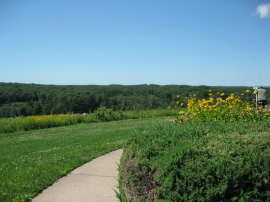 New Auburn, WI: View from Interpretive Center