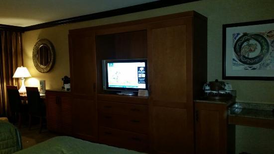 Seneca Niagara Resort & Casino: Nice Room.