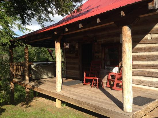 Jerico Bed & Breakfast: The Rebel cabin