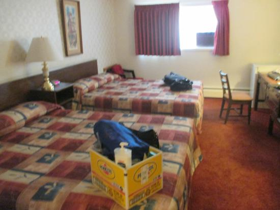 Downtowner Motor Inn: A lovely room.