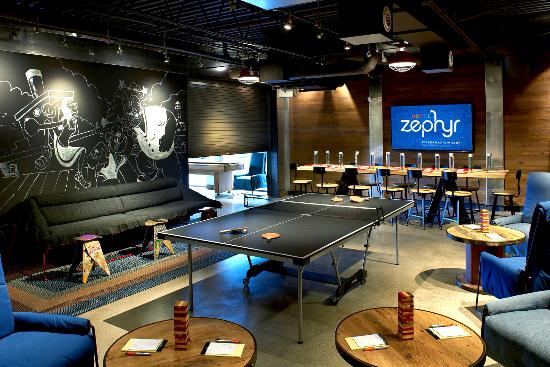 hotel zephyr game room picture of hotel zephyr san francisco