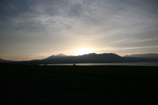 Ninotsminda, Géorgie : Озеро Паравани
