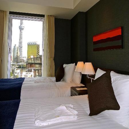 THE GATE HOTEL Asakusa Kaminarimon by HULIC : StyleS Scenic room