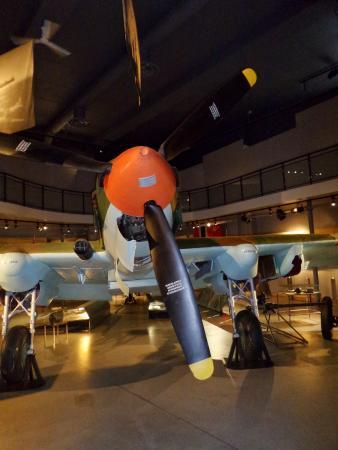 Grenselandmuseet: Soviet Iljusjin Il-2 fighter plane