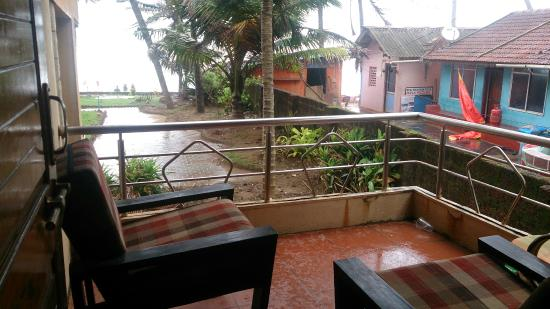 Gokarna International Beach Resort Balcony View 2