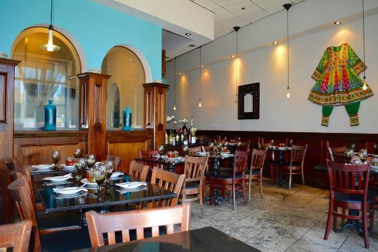 Dinning room photo de aryana afghan cuisine danville for Aryana afghan cuisine