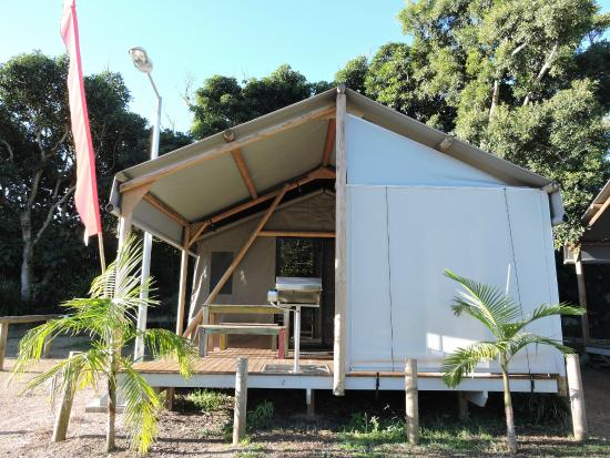 First Sun Holiday Park: Hippy Huts - Camping in style