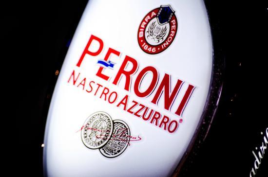 Bella Roma: Peroni