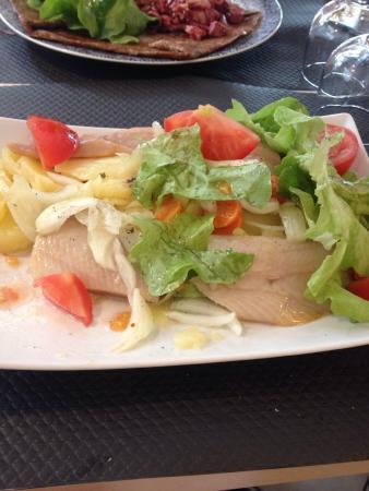 La Chaumieere: Salade de hareng