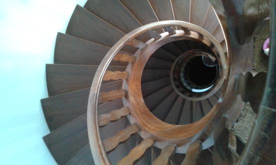 Les Chambres d'Hotes du Chateau: Escalier